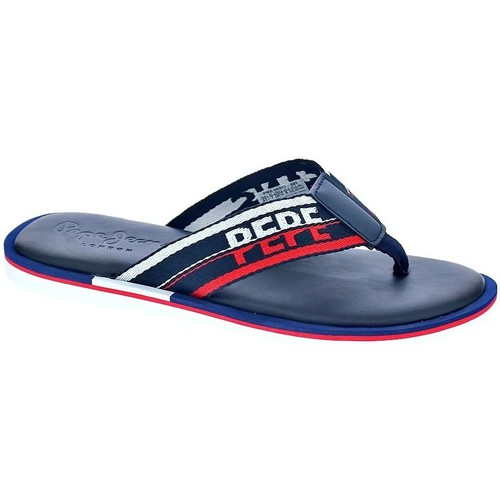 Chaussures Homme Tongs Pepe jeans Barrel Tape Azul