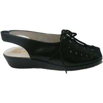 Chaussures Femme Sandales et Nu-pieds Doctor Cutillas  Lacets Sandal  en noir negro
