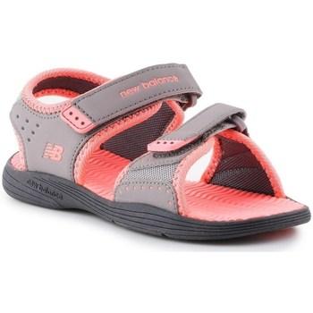 Chaussures Fille Sandales et Nu-pieds New Balance Poolside Gris, Rose