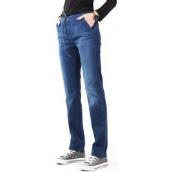 Vêtements Femme Jeans skinny Wrangler Slouchy Cosy Blue W27CGM82G granatowy