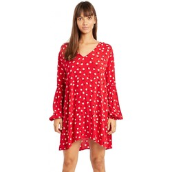 Vêtements Fille Robes courtes Billabong Robe de plage imprimée Beach Sun Rouge