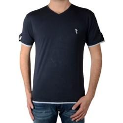 Vêtements Homme T-shirts manches courtes Marion Roth T32 Marine Bleu