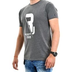 Vêtements Homme T-shirts manches courtes Ritchie T-shirt pur coton organique NABAS Gris foncé