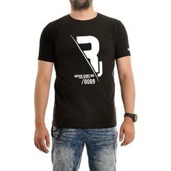 Vêtements Homme T-shirts manches courtes Ritchie T-shirt pur coton organique NABAS Noir