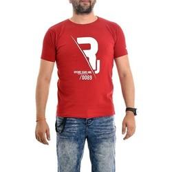 Vêtements Homme T-shirts manches courtes Ritchie T-shirt pur coton organique NABAS Rouge