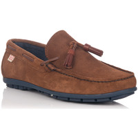 Chaussures Homme Chaussures bateau Crab 81607 Marron