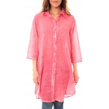 Robes courtes Palme Tunique Honolulu 47262 Rose