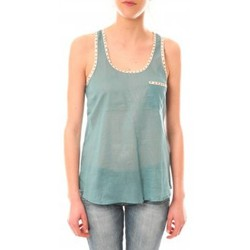 Vêtements Femme Débardeurs / T-shirts sans manche Lara Ethnics Débardeur Ambre Vert Vert
