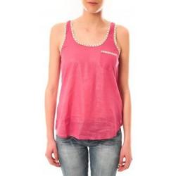 Vêtements Femme Débardeurs / T-shirts sans manche Lara Ethnics Débardeur Ambre Rose Rose