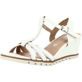 Chaussures Femme Sandales et Nu-pieds Initiale Paris romane blanc