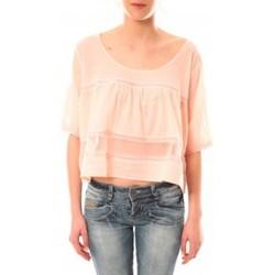 Vêtements Femme T-shirts manches courtes Lara Ethnics Top Wendy Violet Rose