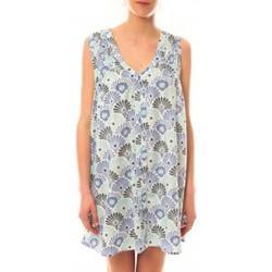 Vêtements Femme Robes courtes Lara Ethnics Robe Maia Bleu Bleu