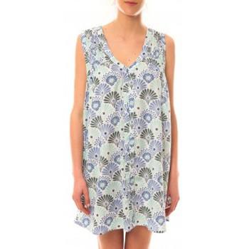 Robes courtes Lara Ethnics Robe Maia Bleu