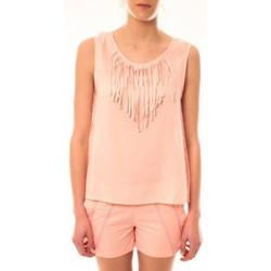 Vêtements Femme Débardeurs / T-shirts sans manche Lara Ethnics Débardeur Maelys Rose Rose