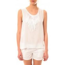 Débardeurs / T-shirts sans manche Lara Ethnics Débardeur Maelys Blanc