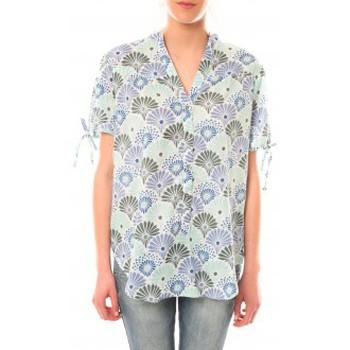 Vêtements Femme T-shirts manches courtes Lara Ethnics Tunique Morgane Vert Vert