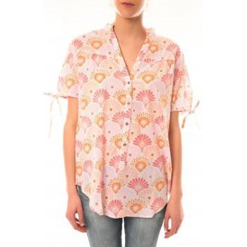 Vêtements Femme T-shirts manches courtes Lara Ethnics Tunique Morgane Rose Rose