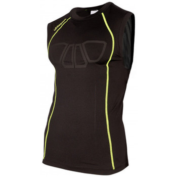 Vêtements T-shirts & Polos Uhlsport Bionikframe Tank Top Black-Fluor yellow
