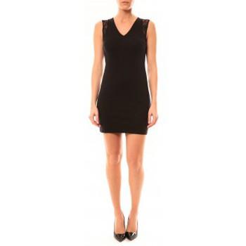 Vêtements Femme Robes courtes Vera & Lucy Robe Enzoria 9252 Noir Noir
