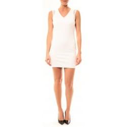 Vêtements Femme Robes courtes Vera & Lucy Robe Enzoria 9252 Blanc Blanc