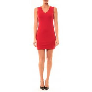 Vêtements Femme Robes courtes Vera & Lucy Robe Enzoria 9252 Rouge Rouge