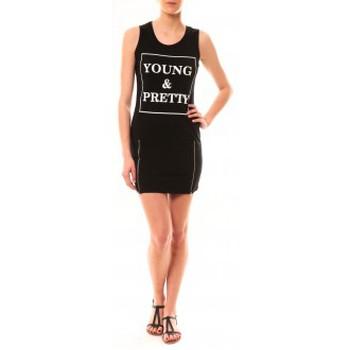 Vêtements Femme Robes courtes Vera & Lucy Robe Young MC1577 Noir Noir