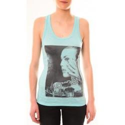 Vêtements Femme Débardeurs / T-shirts sans manche By La Vitrine Débardeur D2709 Vert Vert