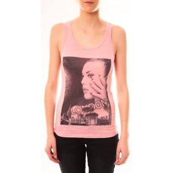 Vêtements Femme Débardeurs / T-shirts sans manche By La Vitrine Débardeur D2709 Fushia Rose