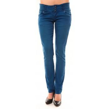 Vêtements Femme Jeans droit Dress Code Jeans Rremixx RX320 Bleu Bleu
