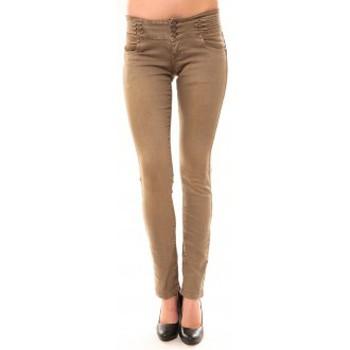 Vêtements Femme Jeans droit Dress Code Jeans Rremixx RX320 Beige Beige