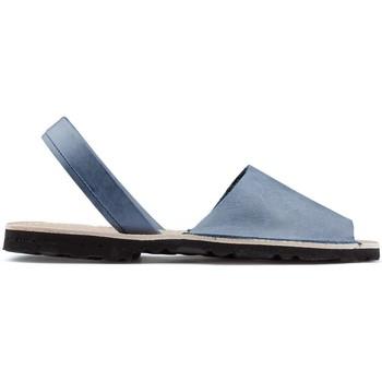 Chaussures Espadrilles Arantxa Minorque  de la peau AZUL