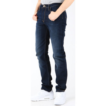 Vêtements Homme Jeans slim Lee Luke Deep Shadow L719YQDP granatowy
