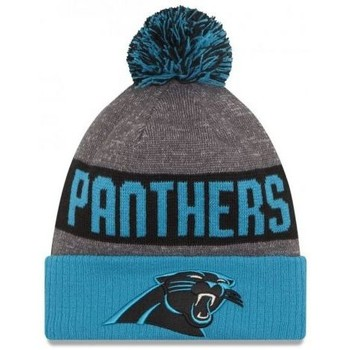 Accessoires textile Bonnets New-Era Bonnet pompon Carolina Panthers SPORT KNIT Bleu