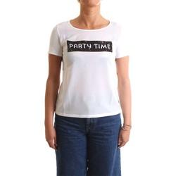 Vêtements Femme T-shirts manches courtes Pennyblack 19710119 T-Shirt/Polo femme blanc blanc