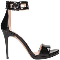 Chaussures Femme Sandales et Nu-pieds Bailly 947 santal Femme Noir Noir