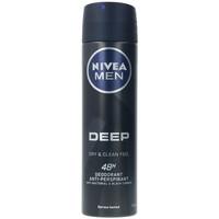 Beauté Homme Déodorants Nivea Men Deep Black Carbon Deo Vaporisateur