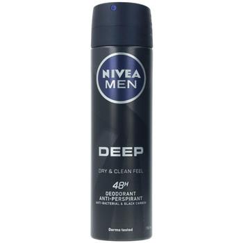 Beauté Homme Déodorants Nivea Men Deep Black Carbon Deo Vaporisateur  150 ml