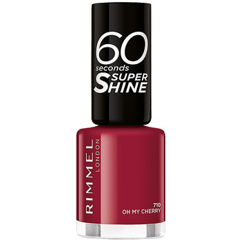 Beauté Femme Vernis à ongles Rimmel London 60 Seconds Super Shine 710-oh My Cherry 8 ml