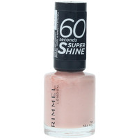 Beauté Femme Vernis à ongles Rimmel London 60 Seconds Super Shine 724-sea Fizz  8 ml