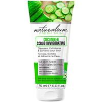 Beauté Masques & gommages Naturalium Cucumber Scrub Invigorating