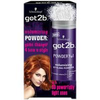 Beauté Soins & Après-shampooing Schwarzkopf Got2b Powder'Ful Volumizing Styling Powder 10 Gr