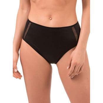 Sous-vêtements Femme Culottes & slips Selmark Culotte haute Adriana  noir Noir