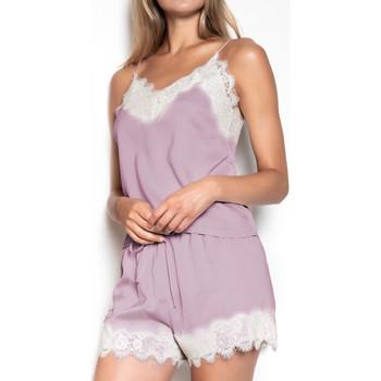 Vêtements Femme Pyjamas / Chemises de nuit Admas Pyjama Soft Crepe violet Violet