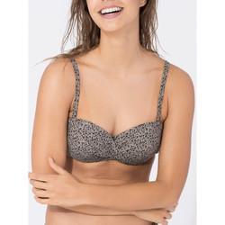 Vêtements Femme Maillots de bain séparables Beachlife Haut maillot de bain bandeau Cheetah Leopard