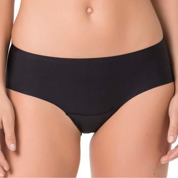 Sous-vêtements Femme Shorties & boxers Selmark Shorty ultrainvisible Noir