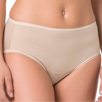 Sous-vêtements Femme Culottes & slips Selmark Slip taille haute invisible Peau