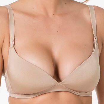 Sous-vêtements Femme Triangles / Sans armatures Selmark Soutien-gorge maternité allaitement sans armatures Care Peau