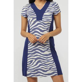 Vêtements Femme Robes courtes Admas Robe de plage Navy Skin Bleu