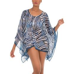 Vêtements Femme Tuniques Selmark Caftan de plage Cebras  Mare Bleu