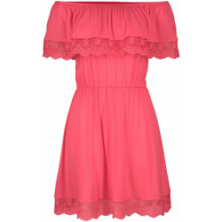 Vêtements Femme Robes courtes Lascana Robe de plage Holly  corail Corail